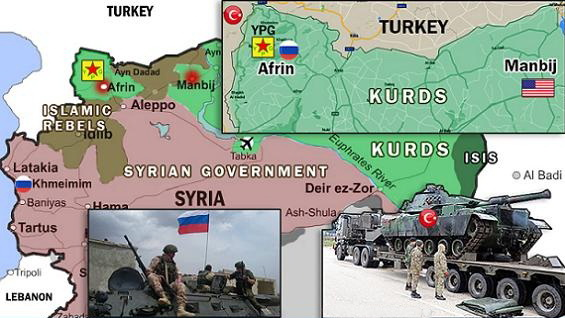 Afrin Olive Branch as a Symbol of War