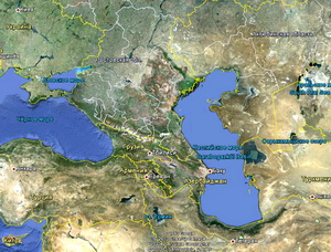 Caspian and Black Sea Regions As Geopolitical Crossroads Between the West and Russia