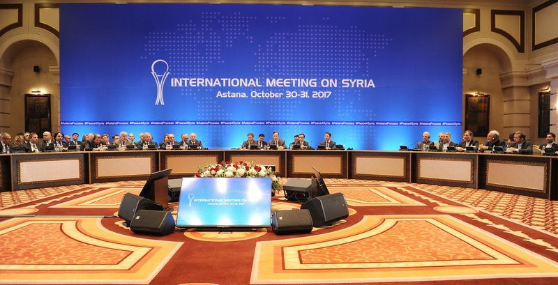 7th round of international negotiations on Syria in Astana