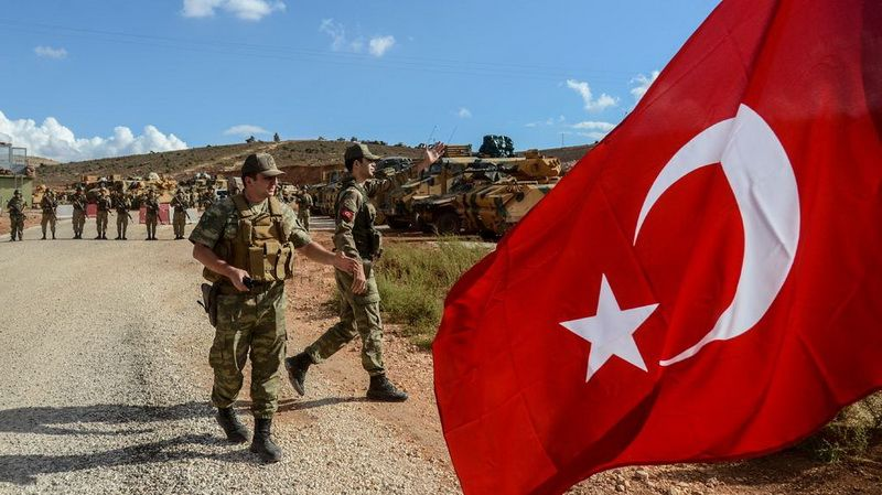 Start of new military operation by Turkish troops in the Syrian province of Idlib