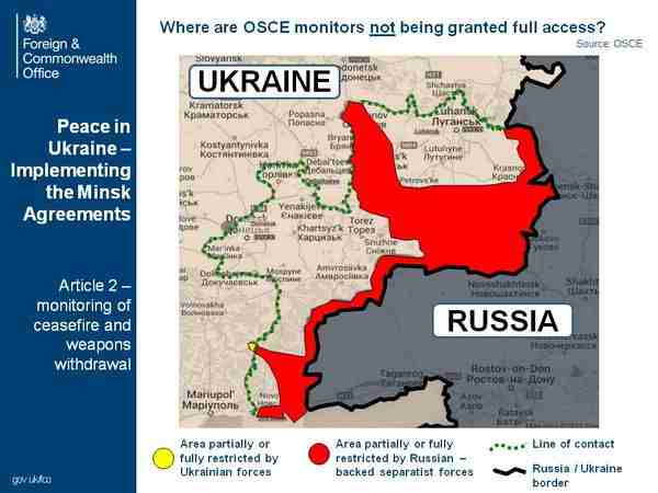 Restricted for the OSCE Mission areas on the Ukrainian-Russian border
