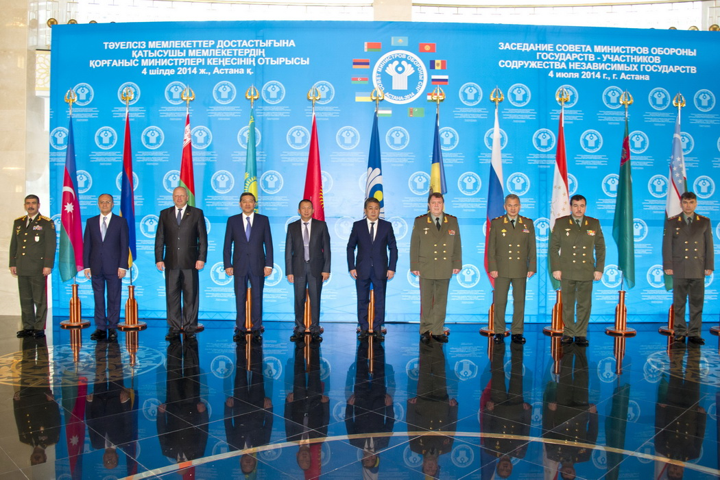 Meeting of the Councilof Defense Ministers of CIS member states