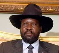 Salva Kiir is the President of the Republic of South Sudan