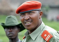 "Bosco ""Terminator"" Ntaganda, Gen. DR Congo one of the commanders of the rebel factions TSNDP"
