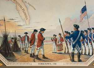 The defeat at Yorktown