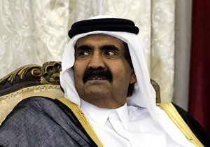 The Emir of Qatar, Sheikh Hamad bin Khalifa al-Thani