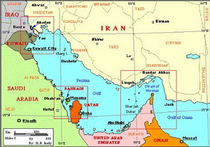The Strait of Hormuz and the Persian Gulf