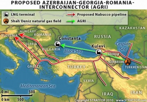 Консорциім AGRI (The Azerbaijan–Georgia–Romania Interconnector)
