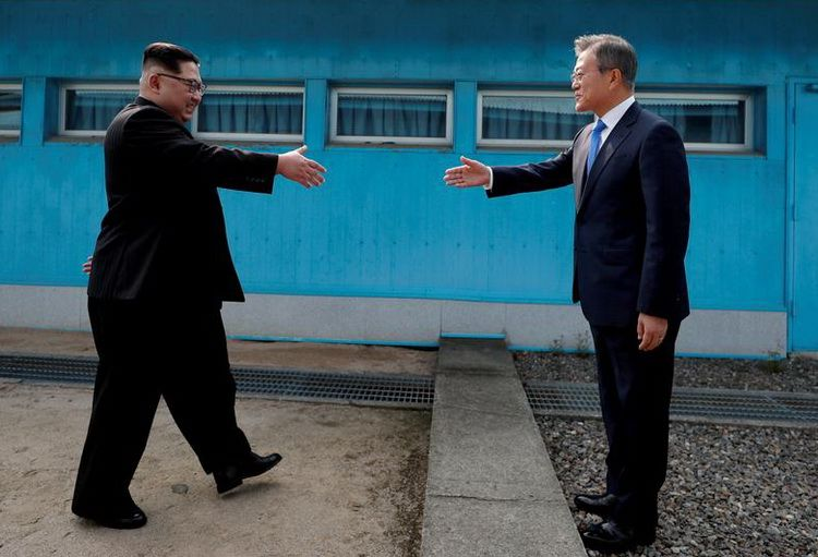 The historic summit of the leaders of the DPRK and the Republic of Korea on April 27, 2018