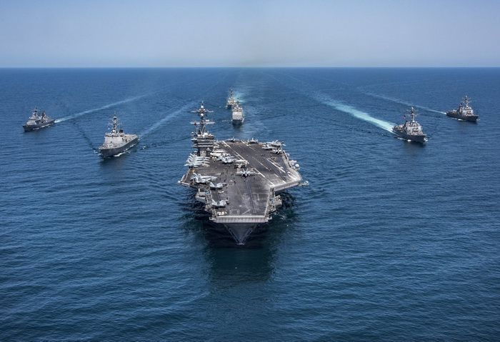 "Carrier Strike Group One (USS ""Carl Vinson"")"