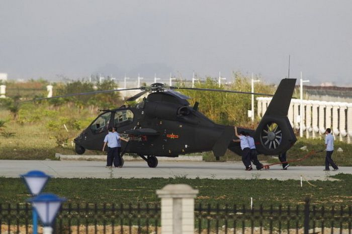 Harbin Z-19E attack helicopter