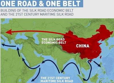 "China's ""The Belt and Road"" Strategic Initiative"