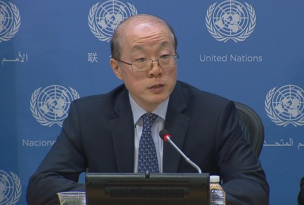 Permanent Representative of the PRC to the United Nations, Ambassador Liu Jieyi