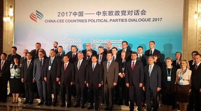 "The ""2017 China-CEE Countries Political Parties Dialogue"" was held in Bucharest, Romania"