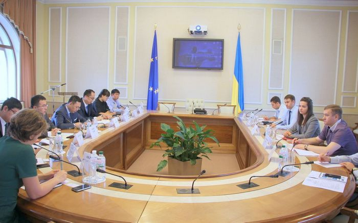 "Meeting at the Ministry of Energy and Coal Industry of Ukraine with the representatives of the Chinese ""TBEA International Ltd"" company"