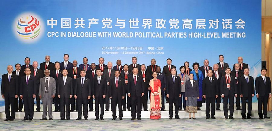 The Communist Party of China in Dialogue with World Political Parties High Level Meeting