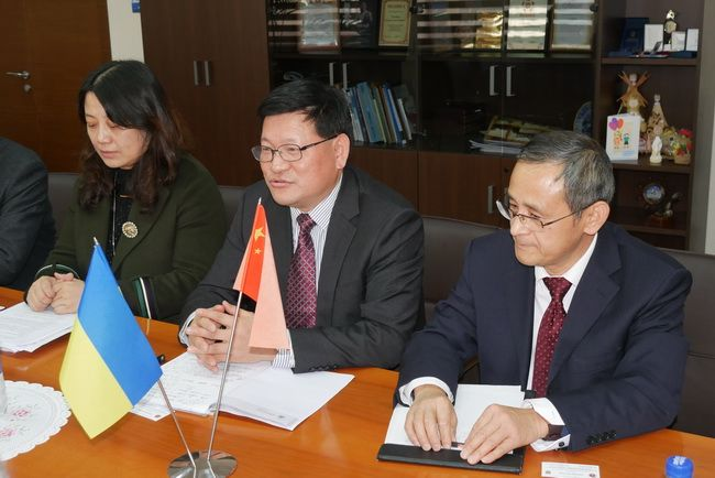 Meeting in Zaporizhzhia with scientists from the Anhui Pedagogical University