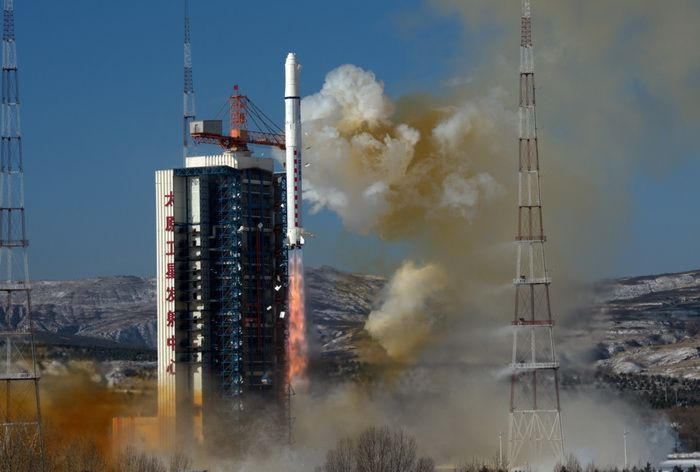 China launched a Long March-2D rocket with two Gaojing-1 Earth observation satellites, January 9, 2018