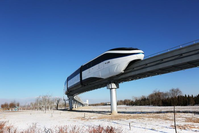 "A driverless monorail system ""Yungui"" was launched in city of Yinchuan on January 10, 2018"