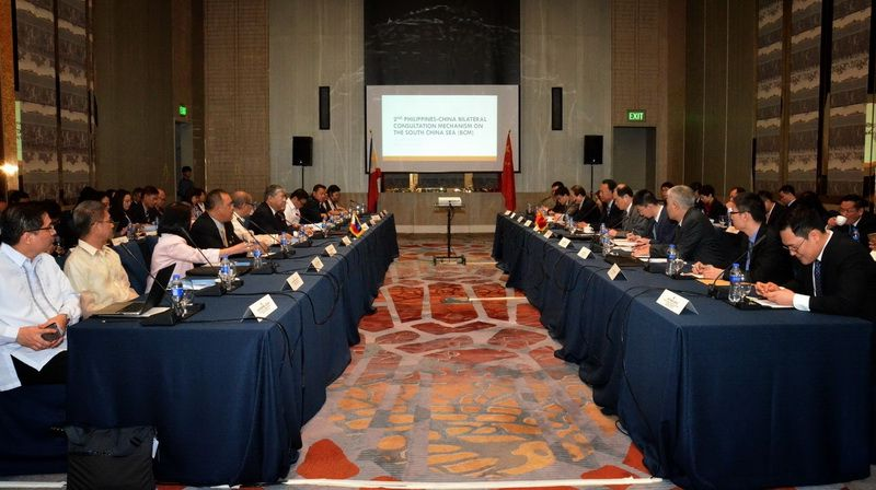 2nd Meeting of China-Philippines Bilateral Consultation Mechanism on the South China Sea on 13 February, 2018 in Manila