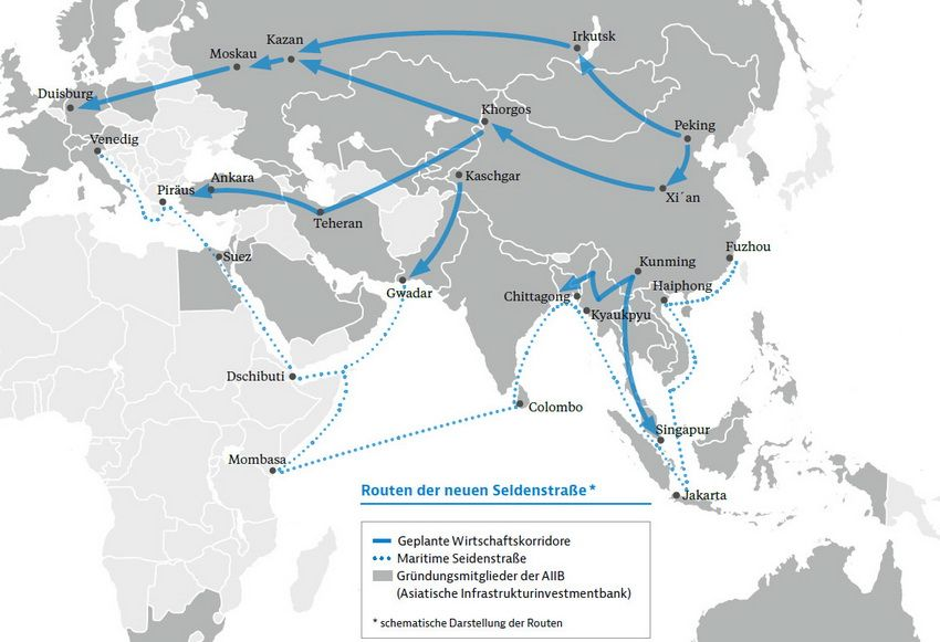 """The Belt and Road"" Initiative is extremely important for German business"