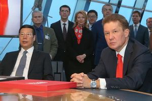 "A meeting of the Vice Premier of State Council of China Zhang Gaoli with the Chairman of ""Gazprom"" A. Miller, April 11"
