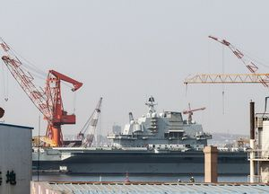 On 23 April 2017, it is planned to launch the first Chinese-made aircraft carrier