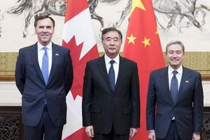 April 25, the next round of the China-Canada economic and financial dialogue took place in Beijing