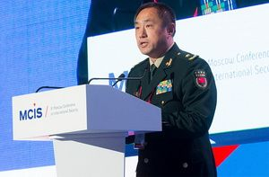 Deputy Chief of the Joint Staff of the Central Military Council of the People's Republic of China Shao Yuanmin participated in the 6th Moscow Conference on International Security