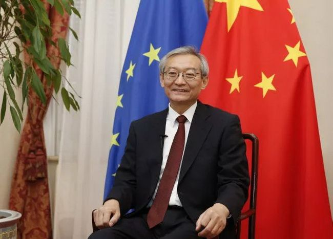 Chinese Ambassador to the European Union Zhang Ming