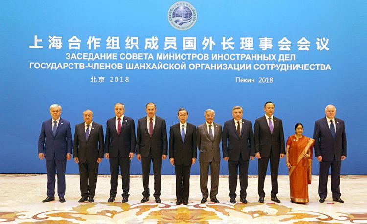 The SCO Council of Foreign Ministers meeting