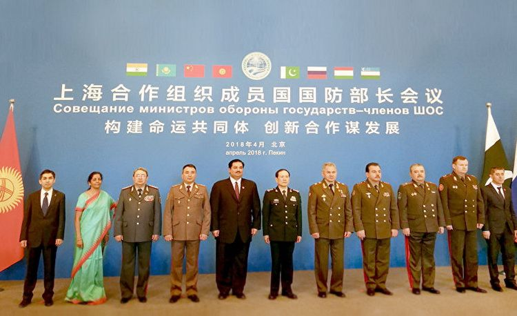The SCO Defence Ministers meeting