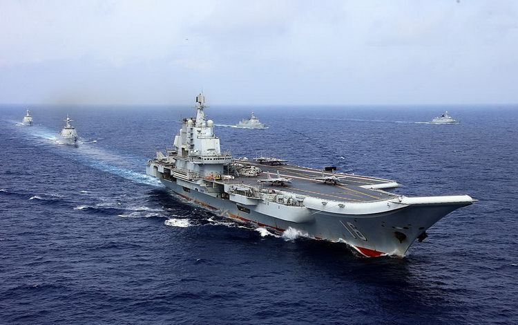 In April 2018, the PLA Navy conducted a large-scale maritime campaign and a series of exercises
