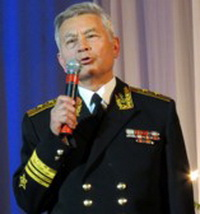 Vice Admiral A. Frolov, Deputy Commander of the Black Sea Fleet for Combat Training in 1991-1994