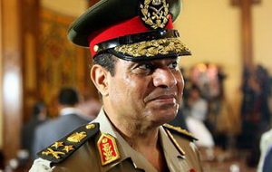 Abdel Fattah al-Sisi, Egypt's Minister of Defence, Colonel-General