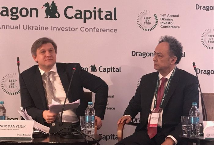 Head of the EU Delegation to Ukraine H. Mingarelli at the 14th Annual Ukraine Investor Conference Dragon Capital, March 1, 2018