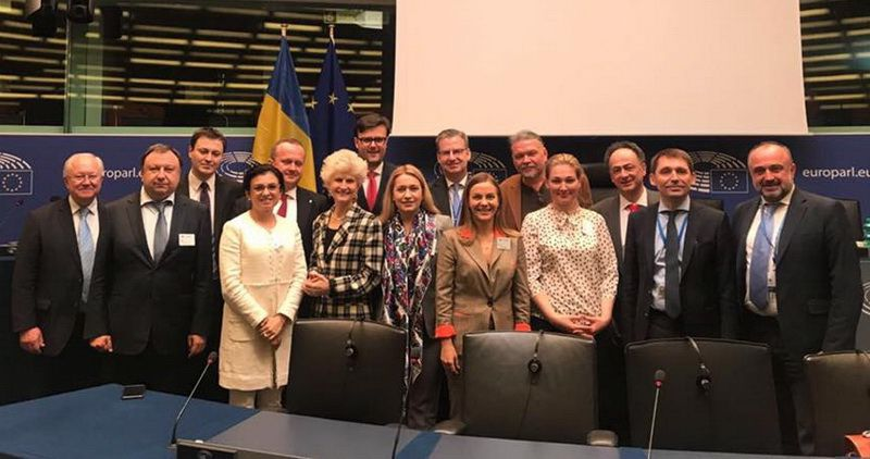Participants of the EU-Ukraine Parliamentary Association Committee