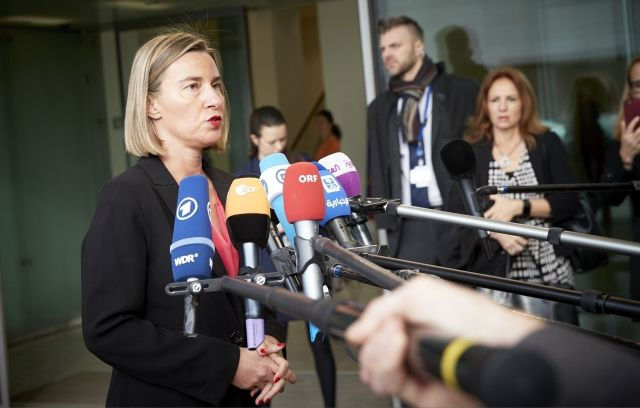 High Representative of the EU for Foreign Affairs and Security Policy Federica Mogherini