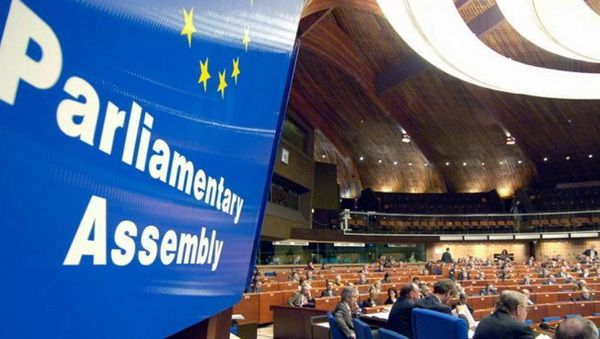 "PACE recognized the ""Russia's effective control"" of some territories of Donetsk and Luhansk regions of Ukraine"