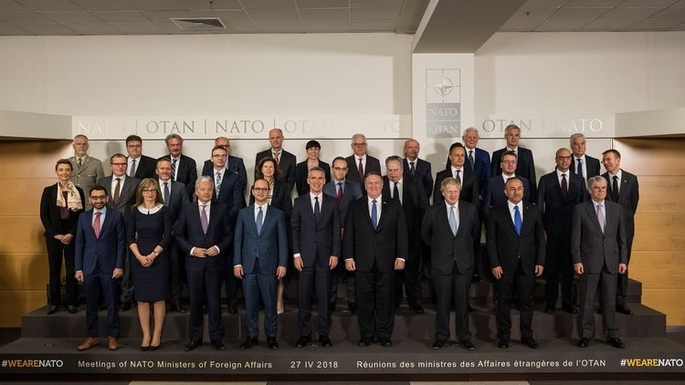 Meetings of NATO Ministers of Foreign Affairs in Brussels