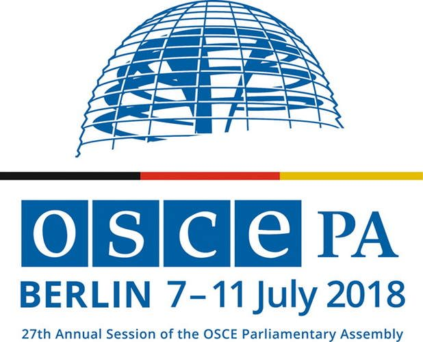The OSCE Parliamentary Assembly met in Berlin for its 27th Annual Session on 7–11 July, 2018