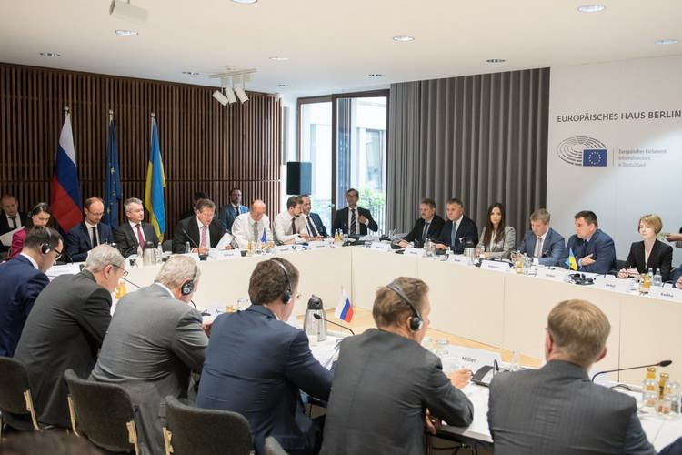 The first Russian-Ukrainian energy talks were held in Berlin on 18 July, 2018