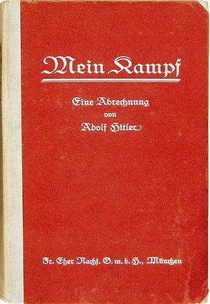"""Mein Kampf"", published in Germany in 1925"