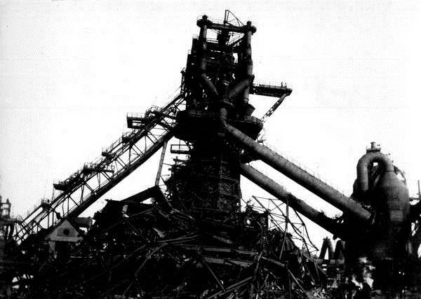 "The destroyed ""Azovstal"" (Mariupol)"