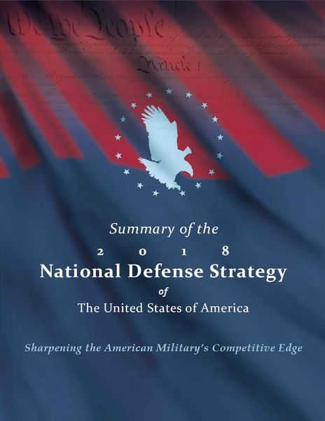 US National Defense Strategy 2018