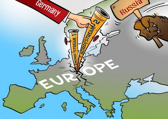 Nord Stream 2 pipeline is new type of Russian hybrid weapon against EU countries – Groysman