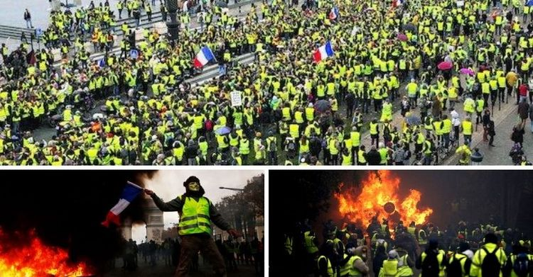 "The development of events in France fully corresponds to the classic scenario, which was practiced during the ""Arab Spring"""