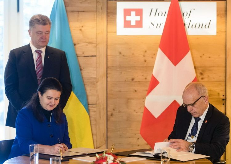 A protocol was signed between the Government of Ukraine and the Swiss Federal Council on the avoidance of double taxation