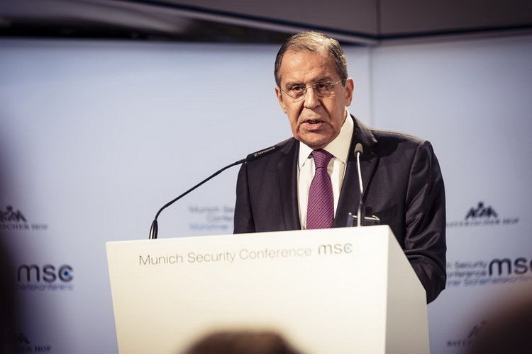 Russian Foreign Minister S. Lavrov