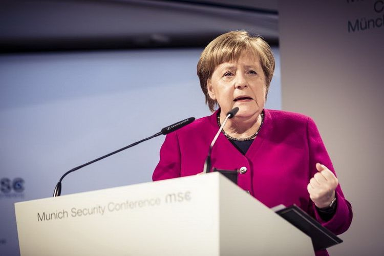 Federal Chancellor of Germany Angela Merkel
